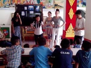 Natalie Teaching
