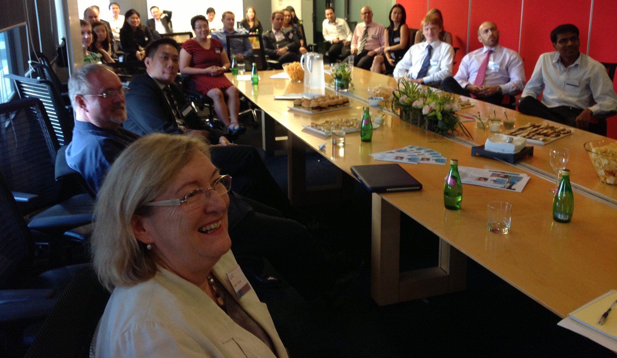 Pro Bono DNA and a Successful Gathering at the Herbert Smith Freehills Singapore Office