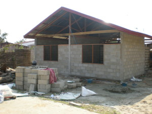 Construction of CLE office at FLP-NUL, BABSEA CLE partner
