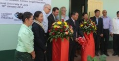 First of its Kind: National University of Laos Opens its Own In-House Legal Consultation Clinic