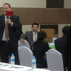 'How to Build a CLE Program' workshop for the universities in the South of Thailand