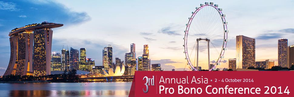 Pro Bono Conference – Singapore