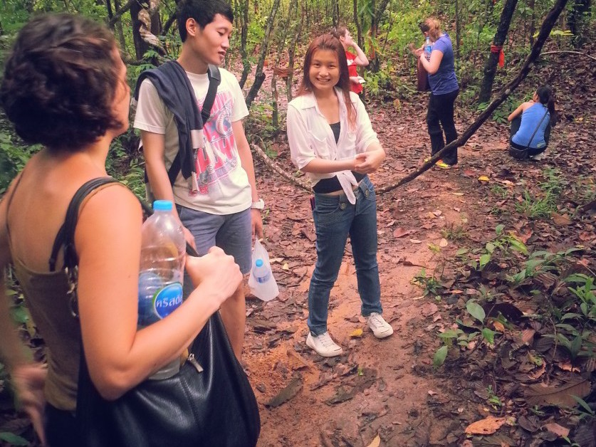 Building an International Team by Hiking to Doi Suthep