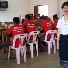 Community Teaching with Lao Law Students