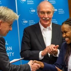 2014 Human Rights Award Given at Central European University