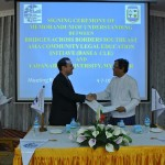 MOU signing between Yadanabon University and BABSEA CLE_04-07-14
