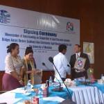 03. MOU signing between Mandalay University and BABSEA CLE_10-07-14