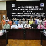 05. MOU Signing between University of Yangon Myanmar and BABSE CLE_12-08-2014