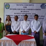 10. MOU signing between Dawei University Myanmar and BABSEA CLE_09.09.2014