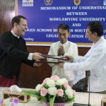 MOU Signing between Mawlamyine University and BABSEA CLE_15-07-15