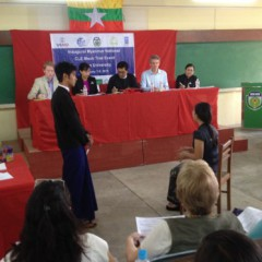 Myanmar National CLE Mock Trial Event February 7-8, 2015