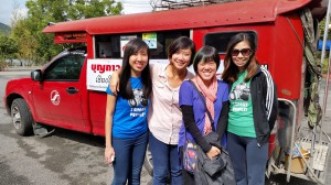 Felicia Ong (Beacon Law Corporation), Carrie Tan (Daughters of Tomorrow), Alice Ng (Alice in DOT's World & Carol Lee (Photokidz)