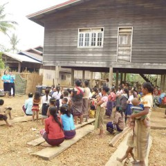 Community Outreach In The South of Laos