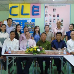 Re-signing Laos Memorandum of Understanding