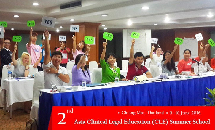 2nd Asia CLE Summer School 9-18 June 2016