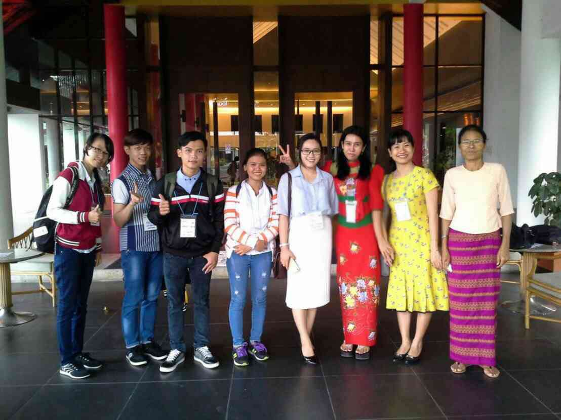 Myanmar Lecturers at Chiang Mai Summer School/Training