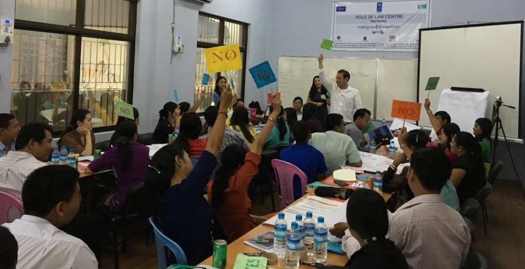 Myanmar Supervision and Report Writing Workshop
