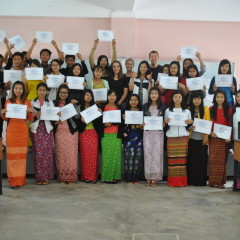 From Student to Trainer: Teaching CLE English in Myanmar