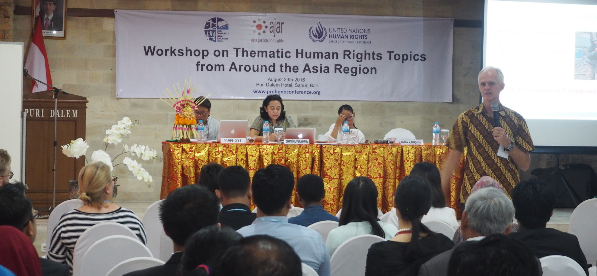 From Conflicts to Peace: Human Rights and Transitional Justice Workshop