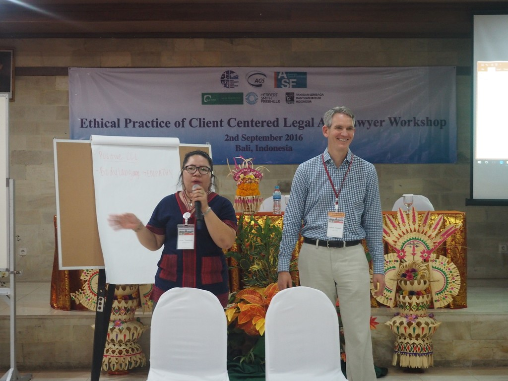 Expanding Client-Centered Lawyering in Bali, Indonesia