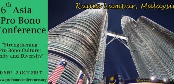 6th Asia Pro Bono Conference Preparations in Malaysia