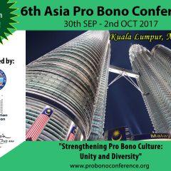 6th Asia Pro Bono Conference 2017