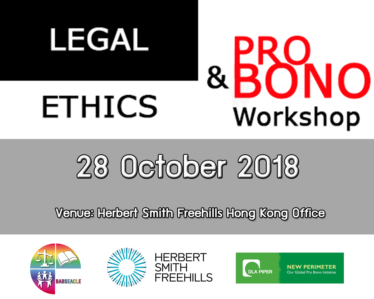 Legal Ethics as a core part in regional events
